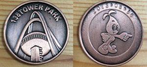 138タワーパーク記念メダル銅