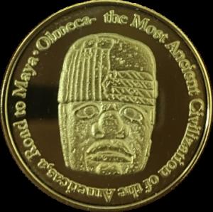 オルメカ展記念メダル