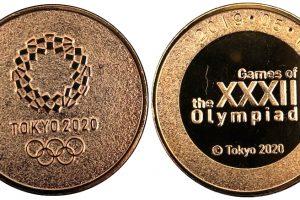 東京オリンピック・パラリンピック記念メダル レリーフ金
