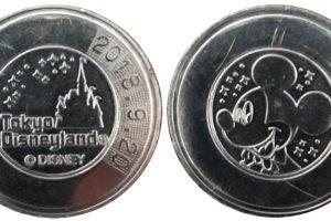 ディズニーランド記念メダル