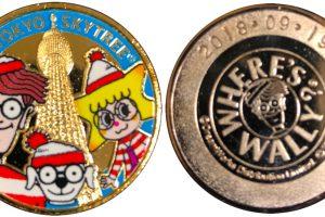 ウォーリー展記念メダル1