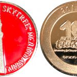 ソラクロ祭記念メダル赤