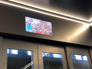 ウォーリー展エレベーター