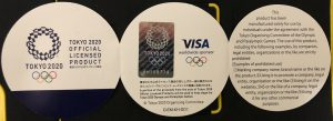 東京オリンピック記念メダル台紙