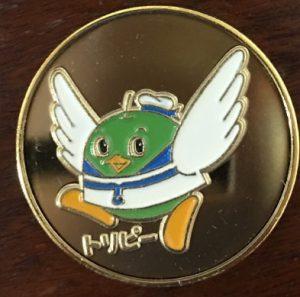 夢みなとタワー記念メダル「トリピー」