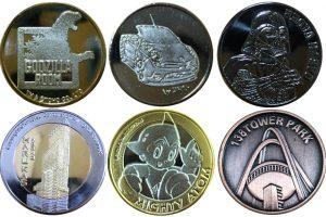 記念メダルカラーバリエーション
