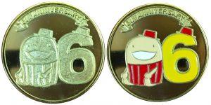 セントレア6周年記念メダル