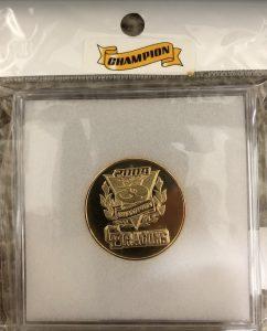 中日ドラゴンズリーグ優勝2004年記念メダル外箱