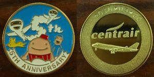 セントレア5周年記念メダル
