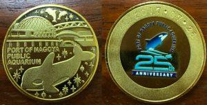 名古屋港水族館25周年記念メダル