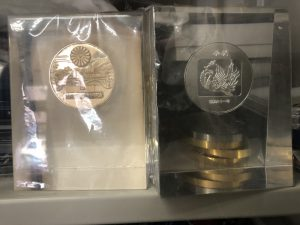 天皇家記念メダル