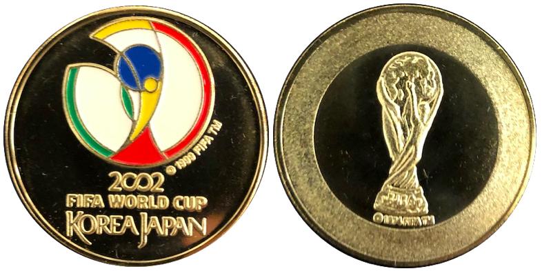 日韓ワールドカップ記念メダル