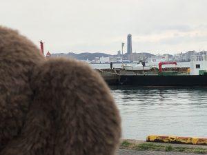 門司港駅から見える海峡ゆめタワー