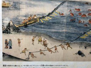 唐津城 鯛漁