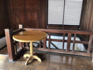 福山城 テーブル