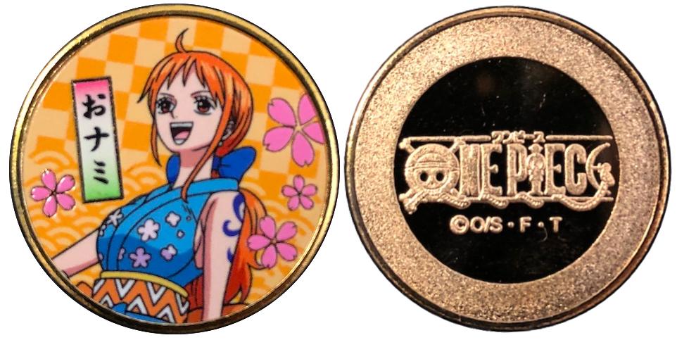 ワンピース ワノ国編記念メダル ナミ