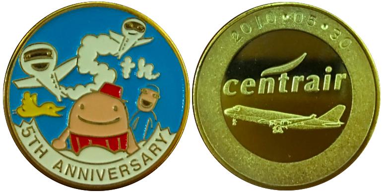 中部国際空港セントレア 記念メダル 5周年