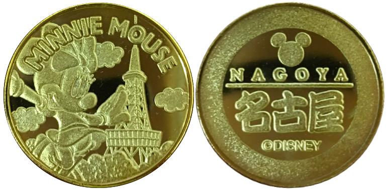 名古屋テレビ塔 記念メダル ミニー