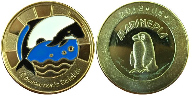マリンピア松島水族館 記念メダル