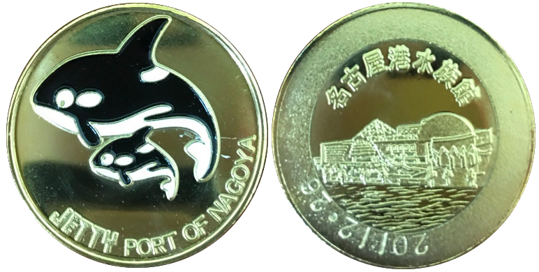 JETTY 記念メダル シャチ