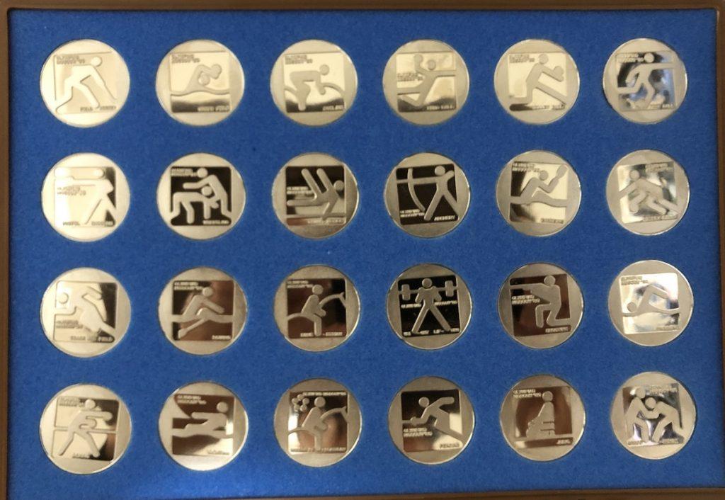 モスクワオリンピック 記念メダル シンボルマークセット