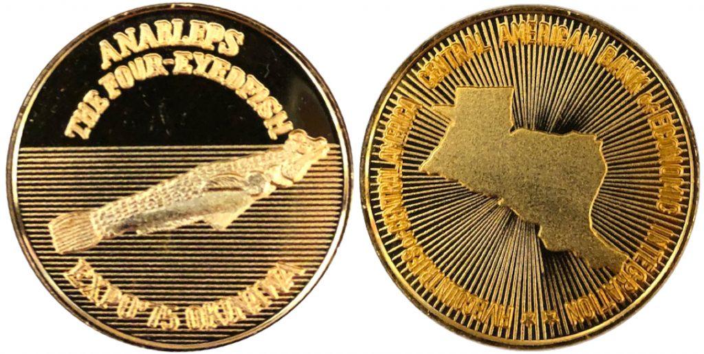 沖縄国際海洋博覧会 海洋博 EXPO'75 記念メダル 中東5共和国 金 38ミリ