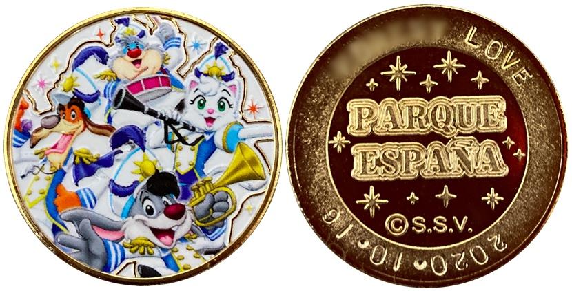 志摩スペイン村 記念メダル カラー