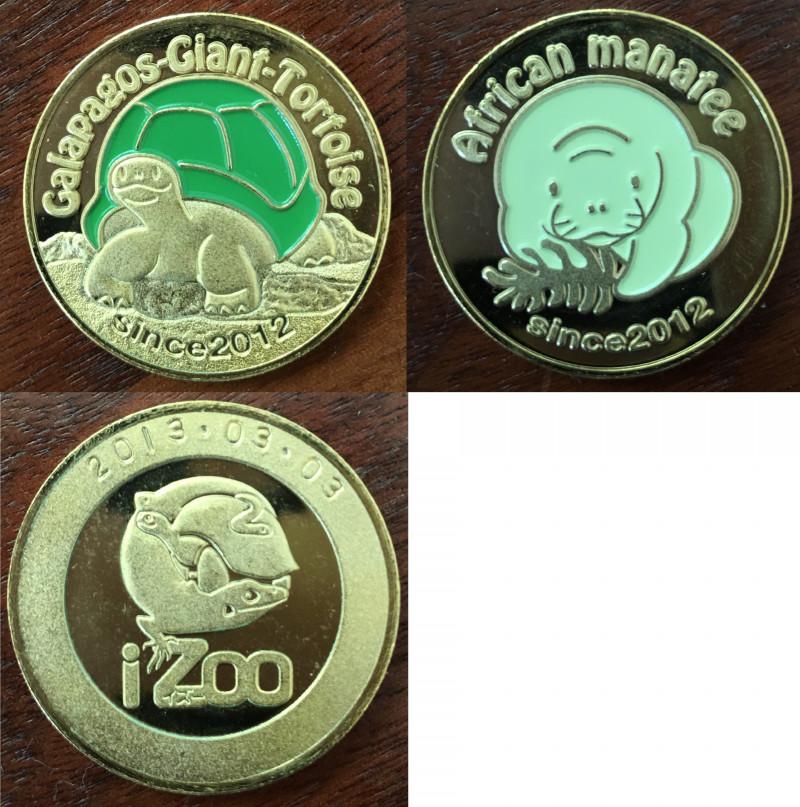 izoo 記念メダル