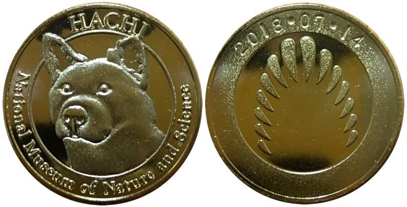 国立科学博物館 記念メダル ハチ